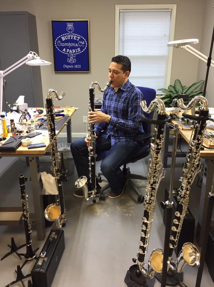 Buffet Student bass clarinets