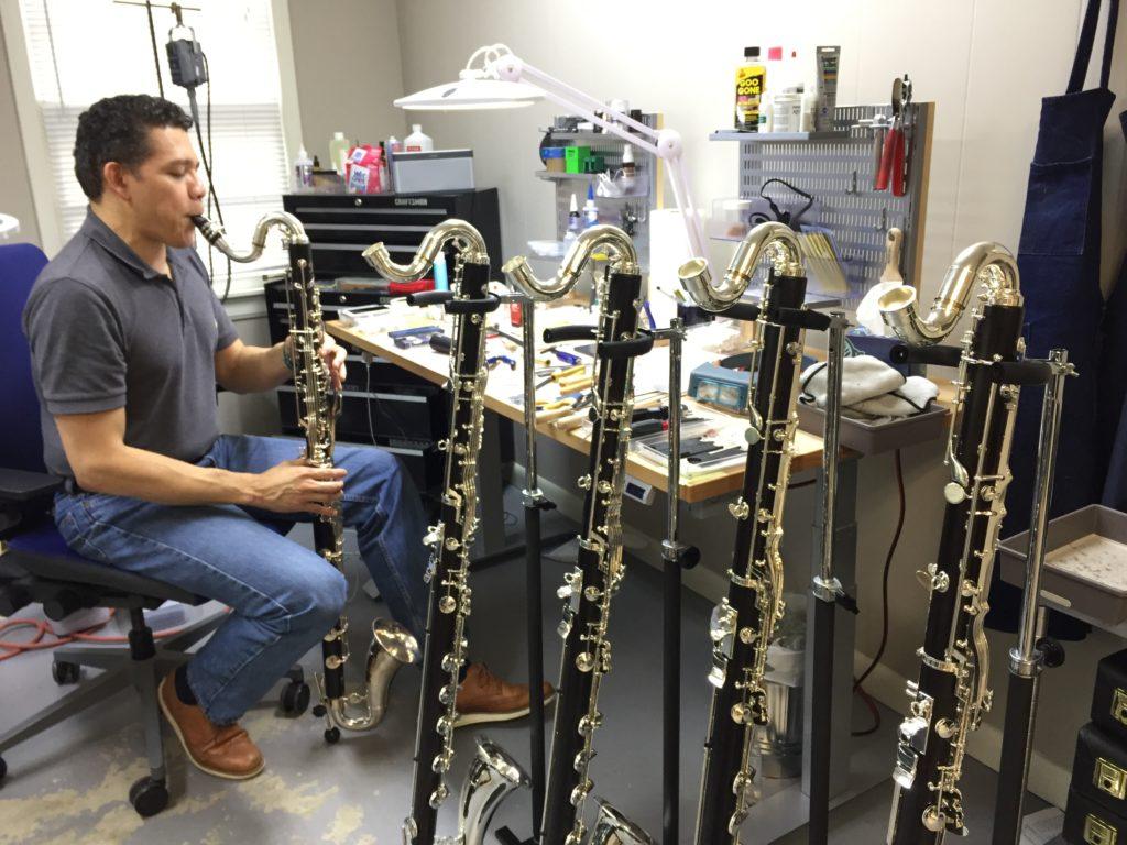 Buffet Crampon bass clarinets