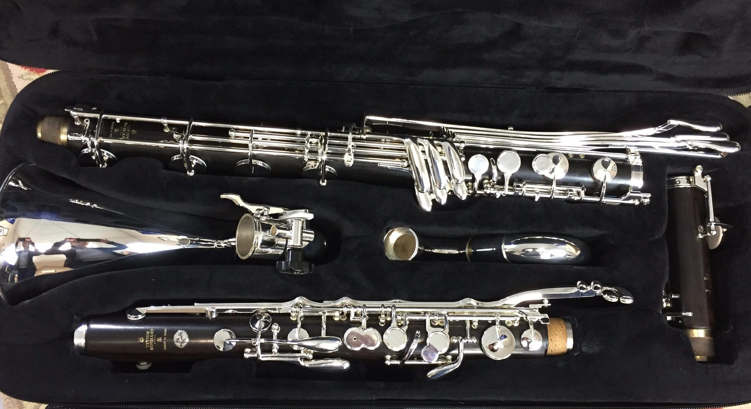 Buffet Prestige Bass with Low C Extension