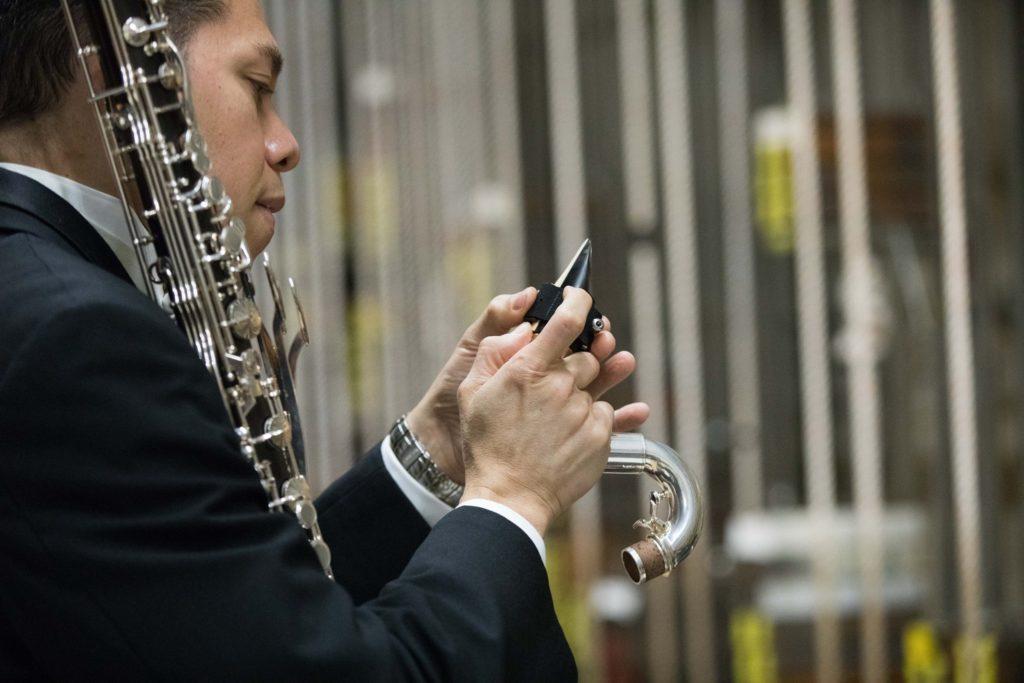 Buffet bass clarinet